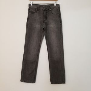 Faded Glory Boys Jeans Size 14 Reg Gray